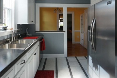 Click to enlarge Appomattox Lynchburg kitchen project gallery