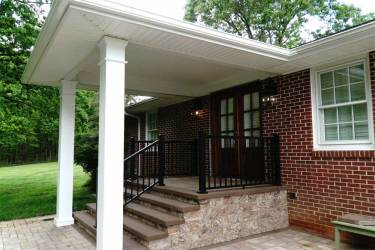 Wallace Custom Covered Porch • Click to view enlargement