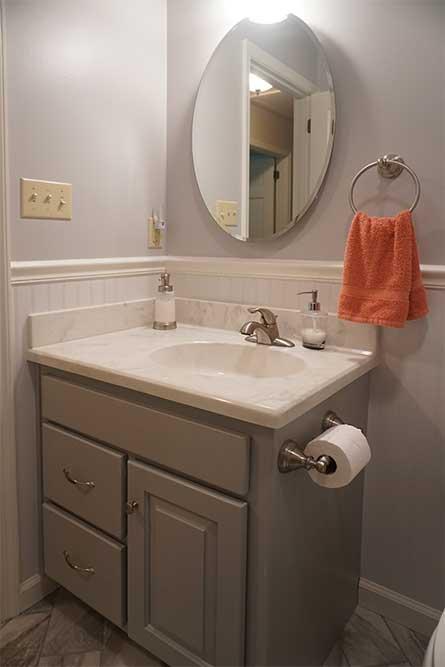 Bathroom remodel in Appomattox, Virginia