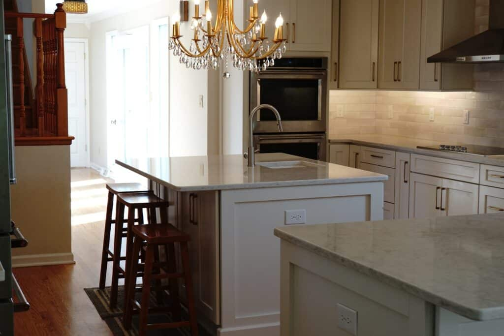 Lynchburg Kitchen Remodel with new cabinets and countertops