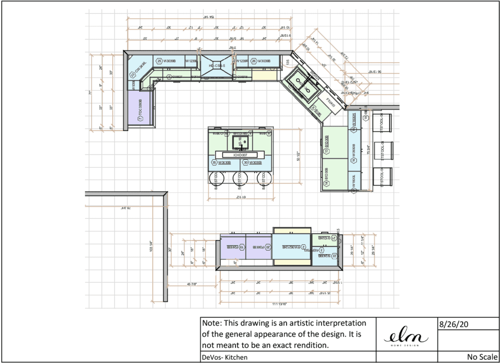 Design for Lynchburg Kitchen Remodel