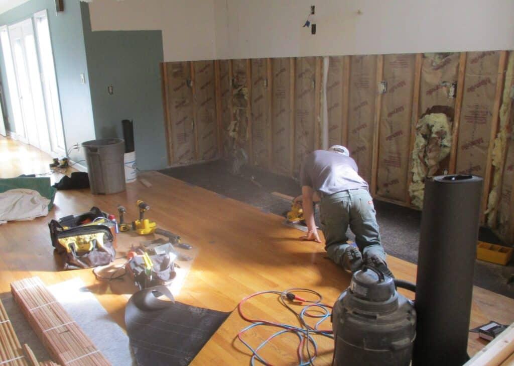 Work in progress for Lynchburg Kitchen Remodel