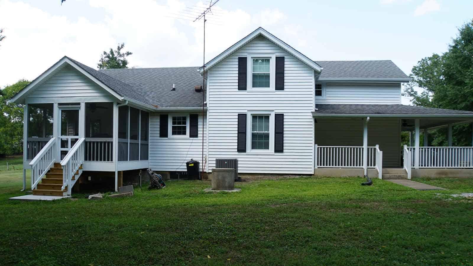 Whole house renovation by Milton Construction Company