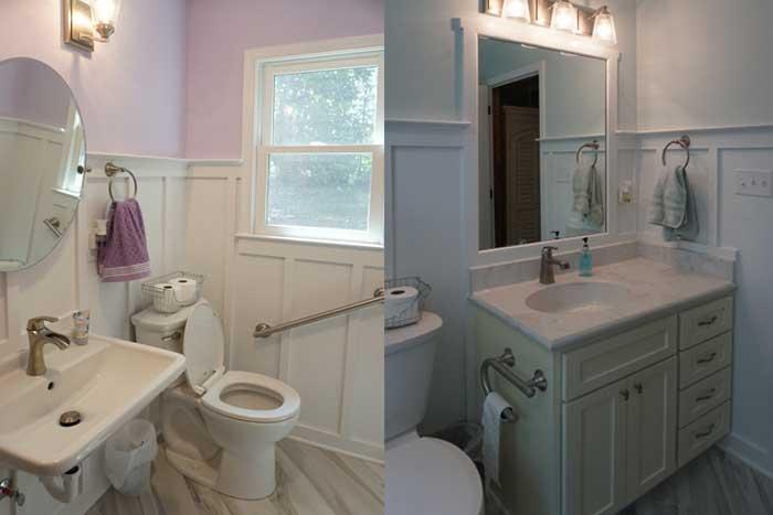 Appomattox bathroom remodels
